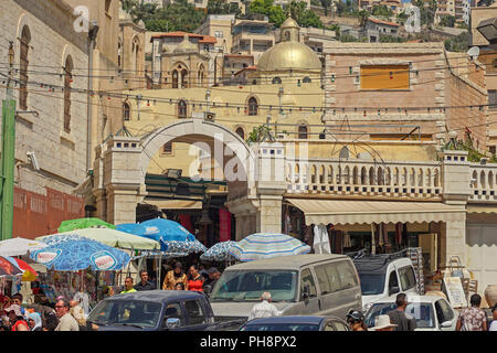 Israel, Nazareth, Cityscape - Stock Photo