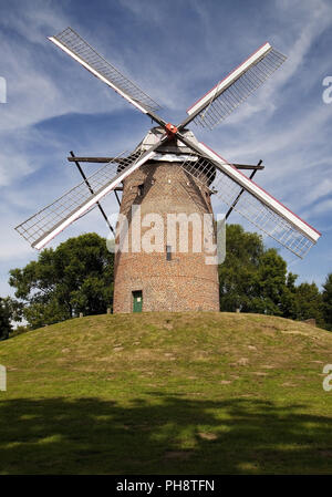 Geis Mill in Krefeld, Lower Rhine, Germany - Stock Photo
