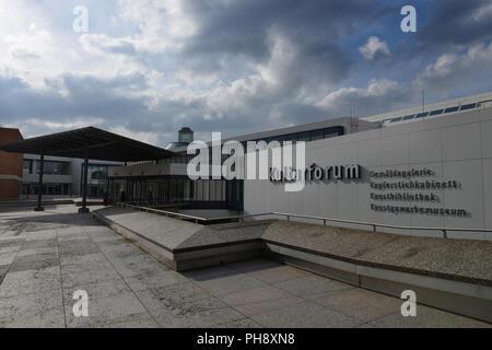 Gemaeldegalerie, Kulturforum, Tiergarten, Mitte, Berlin - Stock Photo