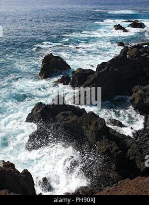 Los Hervideros, Lanzarote - Stock Photo