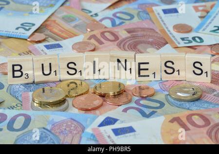 Symbolfoto Wirtschaftsbegriff Business - Stock Photo
