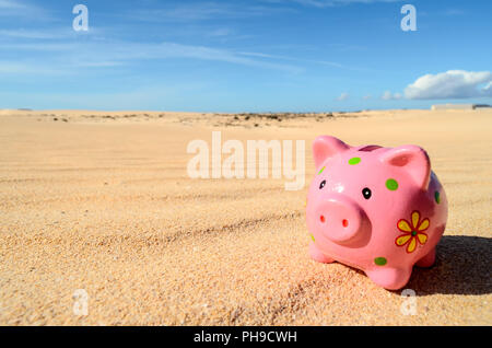 Object in the Dry Desert - Stock Photo