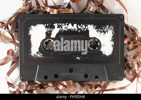 Vintage Musicassette - Stock Photo