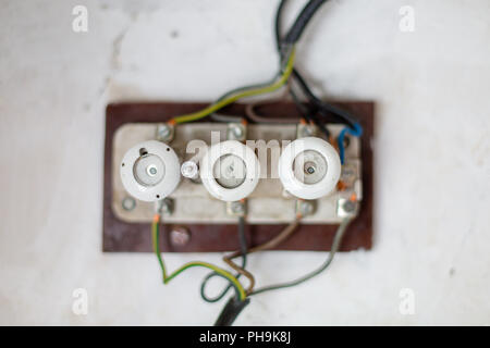 electric fuse box switchboard  ceramic fuses