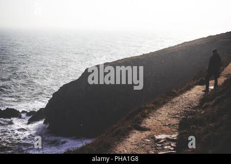 Coast near Howth, Ireland - Stock Photo