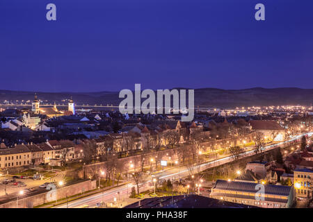 Sibiu city center - Stock Photo
