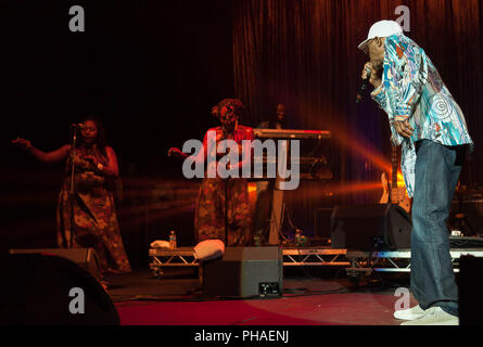 Pictures of Reggae singer and legend  Beres Hammond at  the O2 Brixton Academy,London 2018. ©O.Giuliano Eboulia/graphikvision.com - Stock Photo