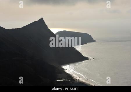 Ilhéu de Cima. Porto Santo island, Madeira. Portugal - Stock Photo