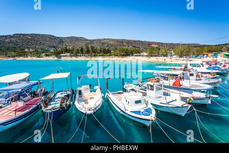 Marathi Beach, Crete, Greek Islands, Greece, Europe - Stock Photo