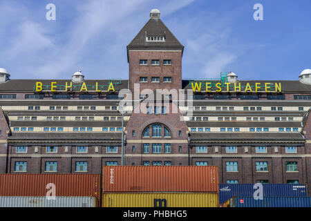 Behala, Westhafen, Charlottenburg, Berlin, Deutschland - Stock Photo