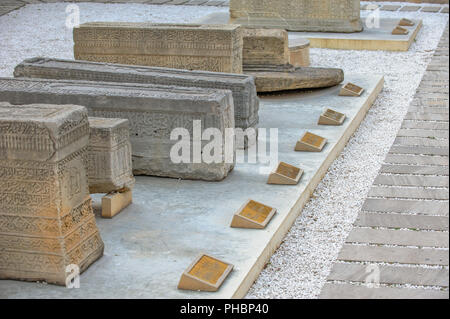 Lapidarium in old city, Baku, Azerbaijan - Stock Photo