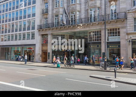 Maille Boutique, Piccadilly Arcade, London, England, UK - Stock Photo