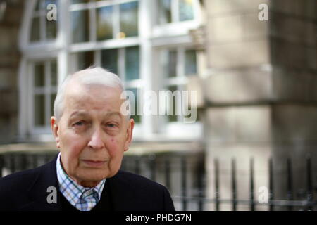 Frank Field Labour party MP member of parliament for Birkenhead. British politicians. Member of parliament of the United Kingdom since 1979. - Stock Photo