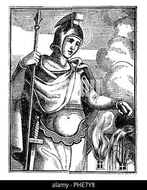 St. Florian, martyr,