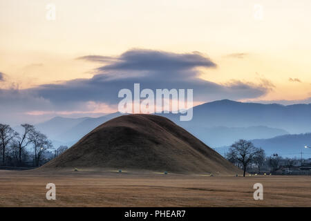 naemul of silla royal mounds - Stock Photo