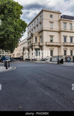 The British Academy, Carlton House Terrace, London, England, UK - Stock Photo