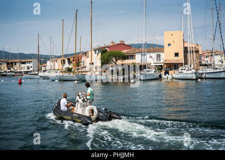 Port Grimaud, France, Europe. - Stock Photo