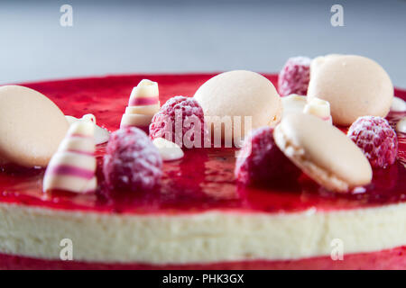 Red Cake Decorations - Stock Photo