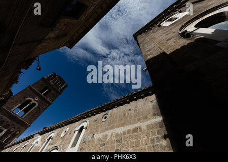 Viiew of Caserta Vecchia - Stock Photo