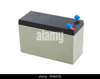 Battery for uninterruptable power source - Stock Photo