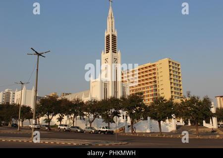 Catedral de Maputo - Mozambique - Stock Photo