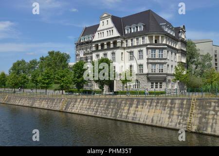 Deutsche Gesellschaft fuer Internationale Zusammenarbeit GIZ, Reichpietschufer, Potsdamer Platz, Tiergarten, Mitte, Berlin, Deutschand - Stock Photo