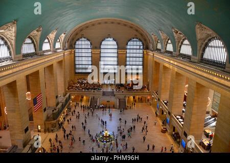 Grand Central Terminal, New York City, USA. - Stock Photo