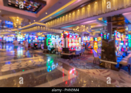 Las Vegas Casino Background - Stock Photo