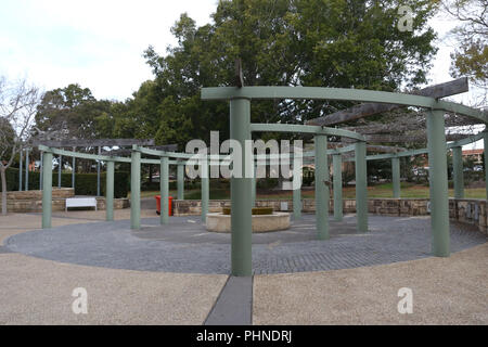 Peace Park, Sutherland, NSW, Australia. - Stock Photo
