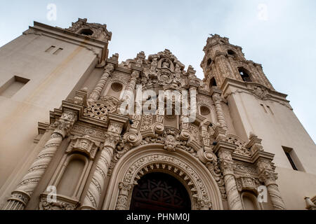Mission Dolores or Mission San Francisco de Asis is the oldest building in San Francisco. Building began in 1782 and was completed in 1791. - Stock Photo