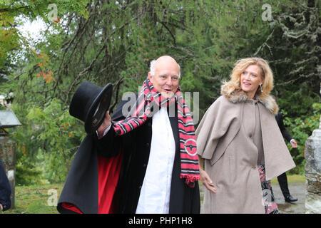 St. Moritz, Switzerland. 01st Sep, 2018. 01.09.2018, Switzerland, St. Moritz: Rolf Sachs attends the wedding of Constantine of Bavaria and Deniz Kaya. Credit: Franziska Kraufmann/dpa/Alamy Live News - Stock Photo
