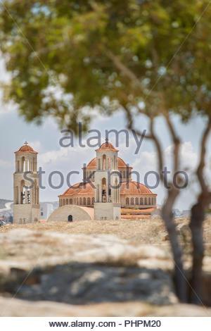 Agioi Anargyroi church in Paphos, Cyprus - Stock Photo