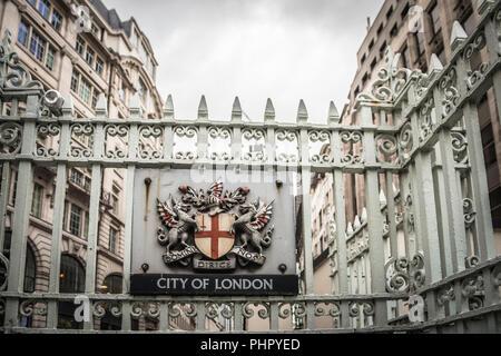 City of London public toilets on Eastcheap, London, UK - Stock Photo
