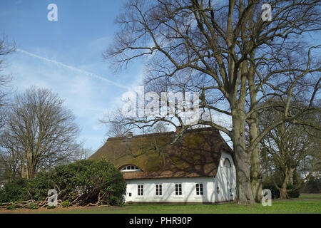 Guesthouse Witthues in Hirschpark in Hamburg Nienstedten - Stock Photo
