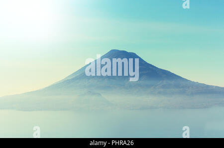 Atitlan lake - Stock Photo