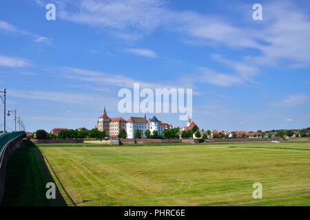 Castle Hartenfels in Torgau - Stock Photo