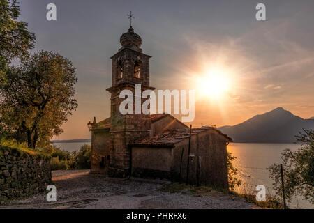 Crero, San Siro, Veneto, Lake Garda, Italy, Europe - Stock Photo
