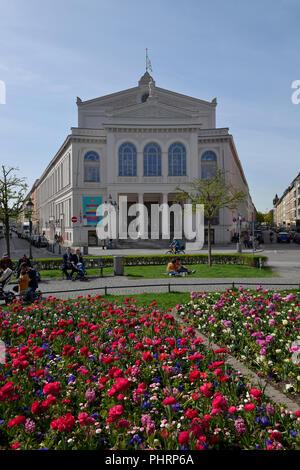 Theater, Gaertnerplatz, Muenchen, Bayern, Deutschland - Stock Photo