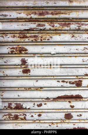 Old rusty galvanized - Stock Photo