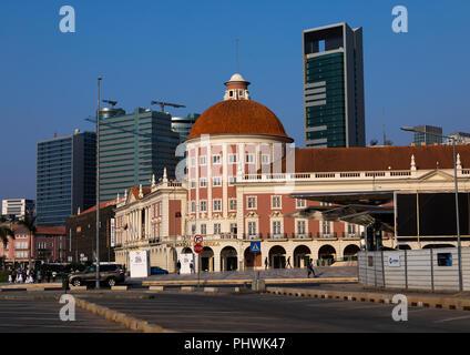 Banco nacional de Angola, Luanda Province, Luanda, Angola - Stock Photo