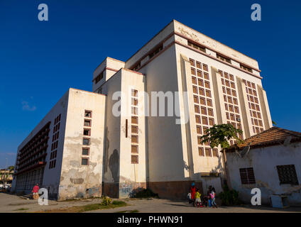 Cinema teatro Monumental, Benguela Province, Benguela, Angola - Stock Photo