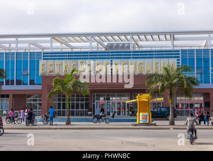 Brand new train station, Benguela Province, Benguela, Angola - Stock Photo