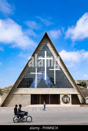 Se catedral de nossa senhora de Fatima aka cathedral of our lady of Fatima, Benguela Province, Benguela, Angola - Stock Photo