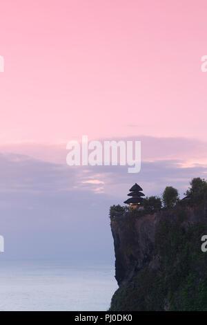 Uluwatu temple, Bali, Indonesia - Stock Photo