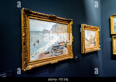 Editorial picture of Orsay Romantic Museum in Paris city taken in date 25 december 2018 - Stock Photo