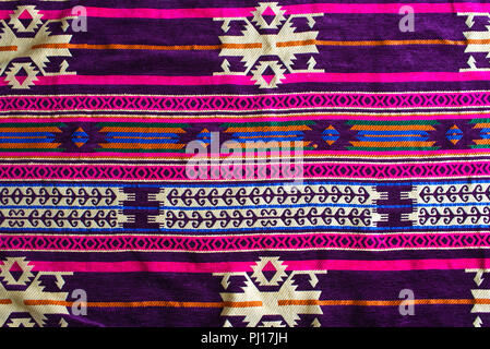 Intricate design on an egyptian carpet as a background - Stock Photo