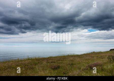 Seaham Hall Beach, County Durham, UK - Stock Photo
