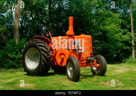 1954 Field Marshall Series 3A tractor - Stock Photo