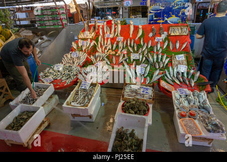 Istanbul, Turkey. 3rd September, 2018.  Inflation rate hits Turkish markets and prices face new record high. Credit: Engin Karaman/Alamy Live News - Stock Photo