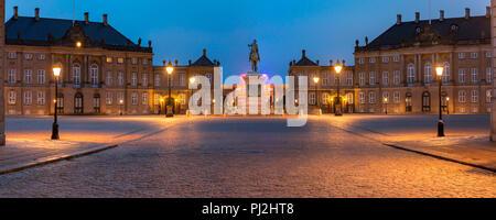 Christiansborg palace in Copenhagen, Denmark - Stock Photo